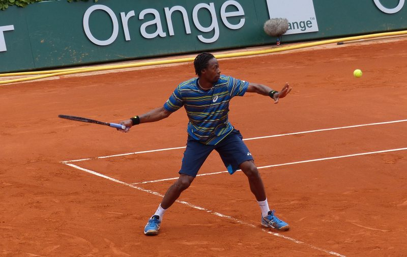 Open Parc 2018. Gaël Monfils, la touche spectacle