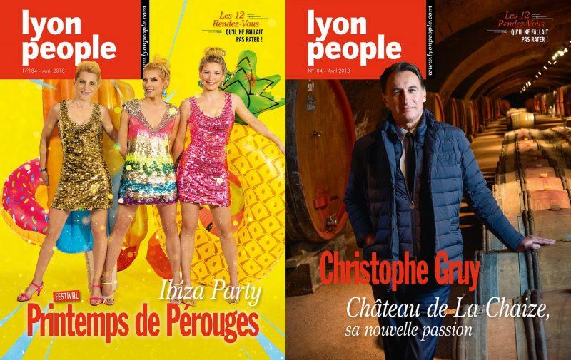 Les Rigaud Sisters et Christophe Gruy en vedette dans le nouveau Lyon People