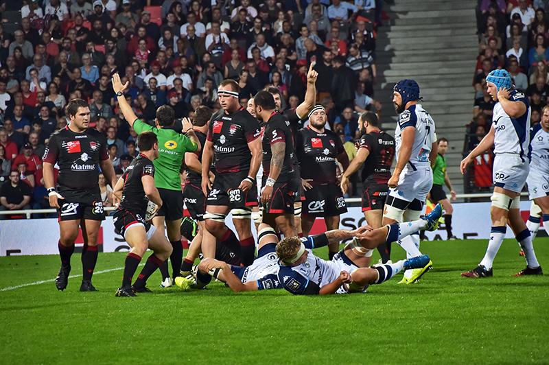 LOU Rugby – Montpellier. Face au leader, les Lyonnais ont sorti les crocs