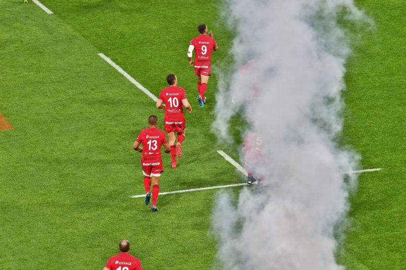 Les tribunes VIP de LOU – Montpellier. Les Lyonnais en demi-finale du Top 14