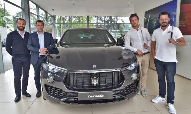 Maserati Gauduel fait le strike avec le golfeur Mike Lorenzo