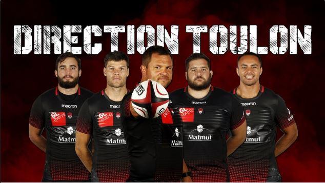 LOU Rugby. Le club offre le trajet en bus jusqu'à Toulon