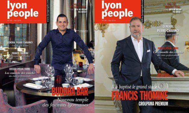 Le Buddha Bar en couverture de Lyon People