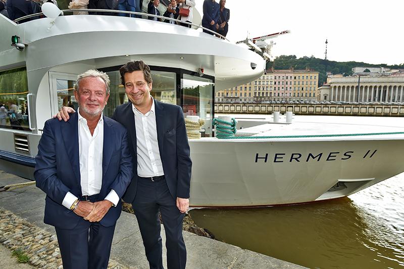 Jean-Claude Lavorel et Laurent Gerra baptisent l'Hermès II