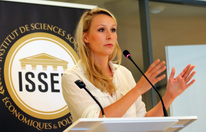 Lancement de l'ISSEP. Marion Maréchal veut faire école à Lyon