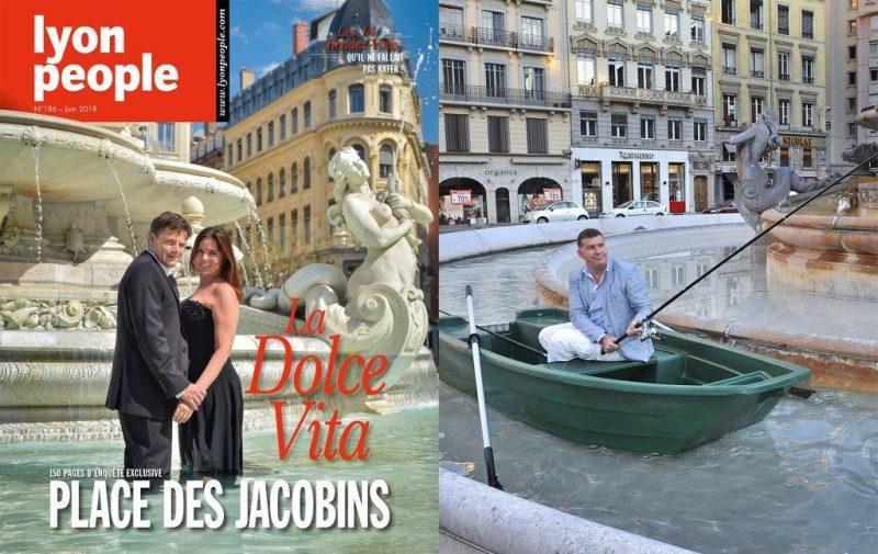 Lyon People spécial patrimoine Jacobins chez votre marchand de journaux