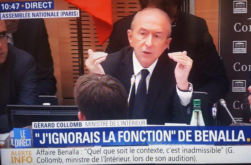 Affaire Benalla. Gérard Collomb face à ses juges