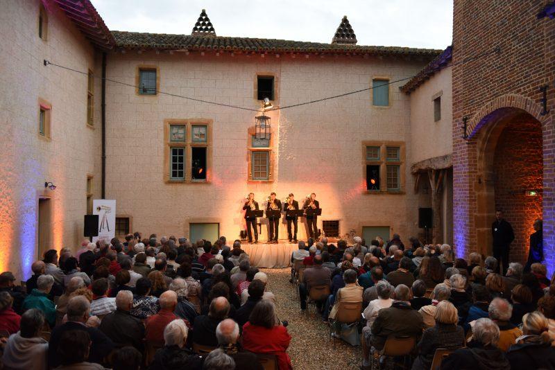 Festival Cuivres en Dombes. Sans tambour mais pas sans trompette