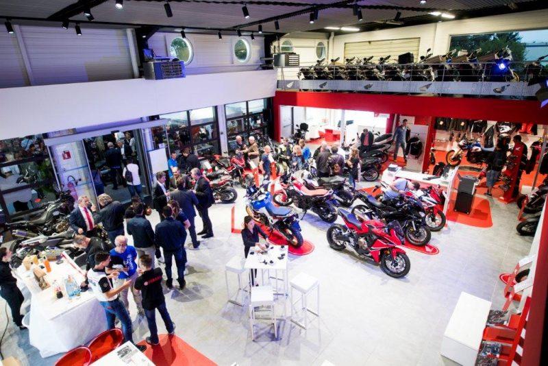 Honda Lyon roule pour le Groupe Vulcain