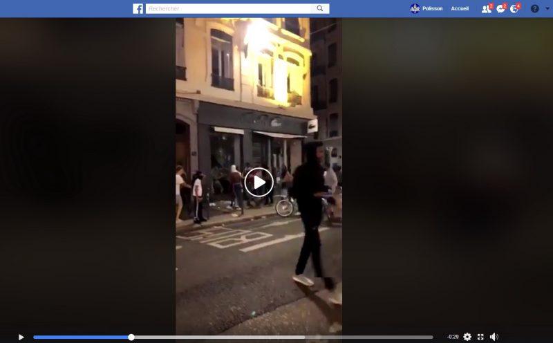 Pillage de Lacoste Lyon. La Préfecture du Rhône plaide non coupable