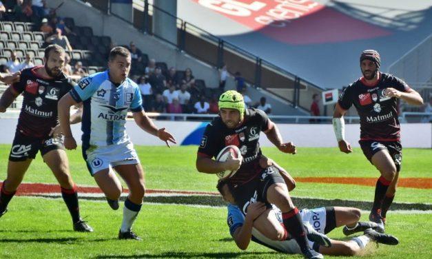 Les tribunes VIP de LOU Rugby – Montpellier. Gerland en fête