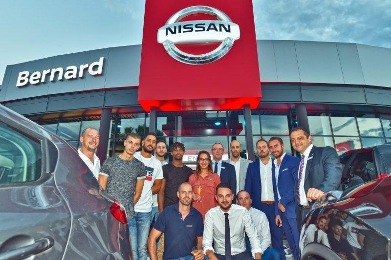 Groupe Bernard. Inauguration Nissan-Infiniti Lyon Sud