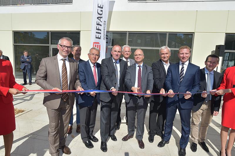 Inauguration résidence So New. « Un moment historique pour la ville de Rillieux »