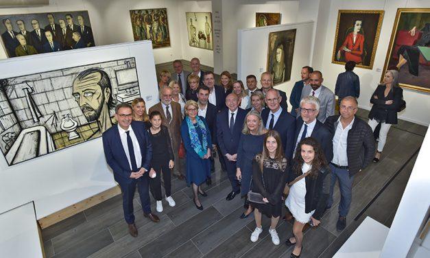 Le tout Lyon des arts au vernissage Bernard Buffet – Jean Couty