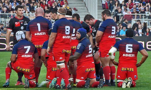 Les tribunes VIP de LOU Rugby – Grenoble. Les Dauphinois à genoux