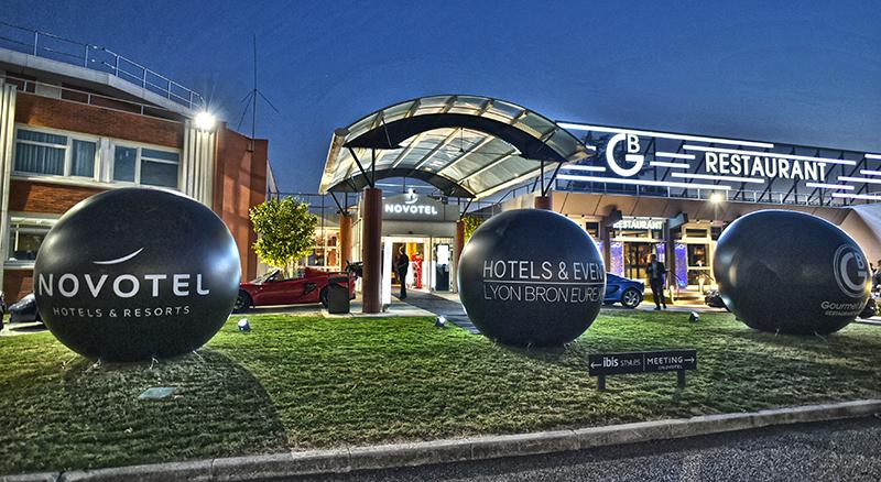 Inauguration Hotels & Events. Le Novotel Lyon Bron Eurexpo  fait chambre à part