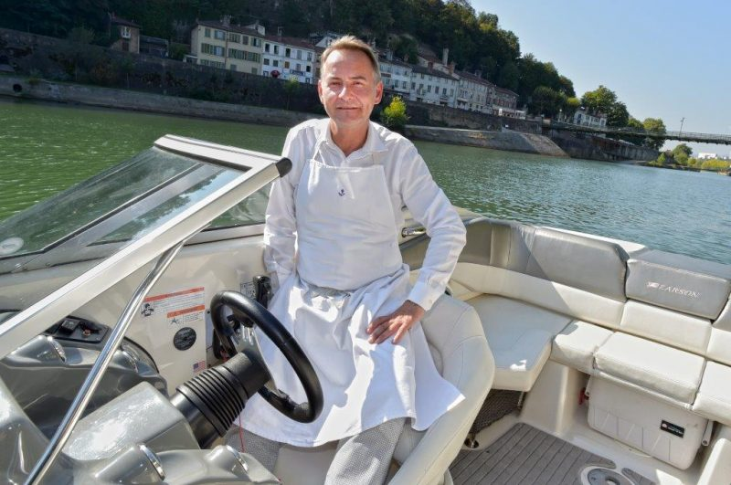 Auberge de l'Ile. Capitaine Jean-Christophe Ansanay-Alex