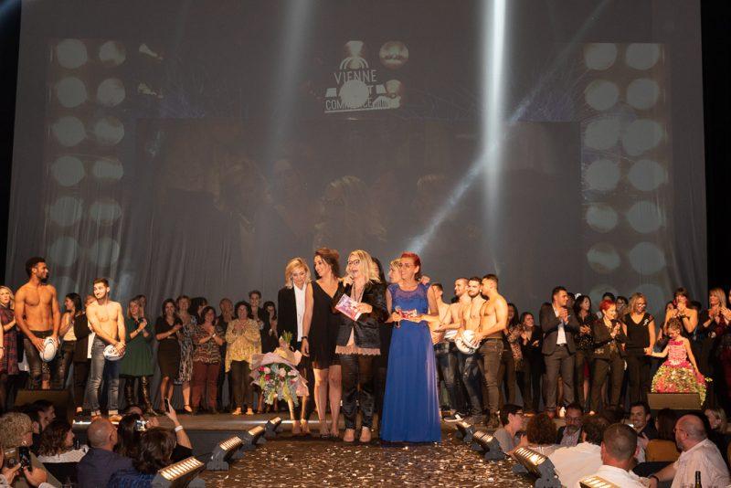 Vienne fait son show devant 800 invités