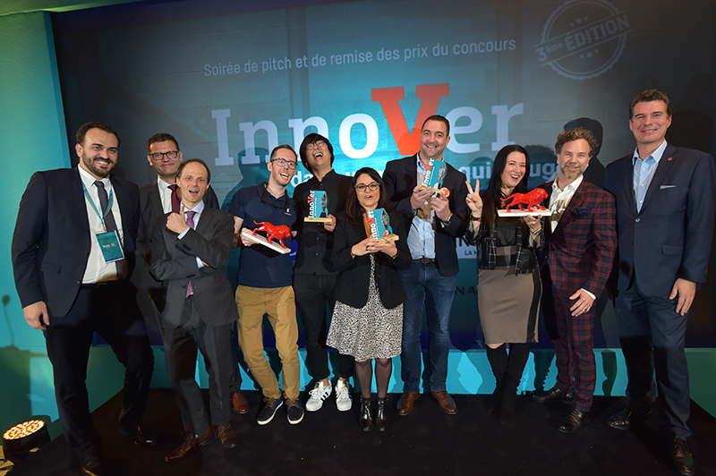 Innover dans un monde qui bouge. Les lauréats de CIC Lyonnaise de Banque