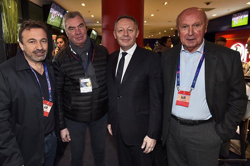 Les tribunes VIP d'OL – Manchester City. Brillant mais pas suffisant