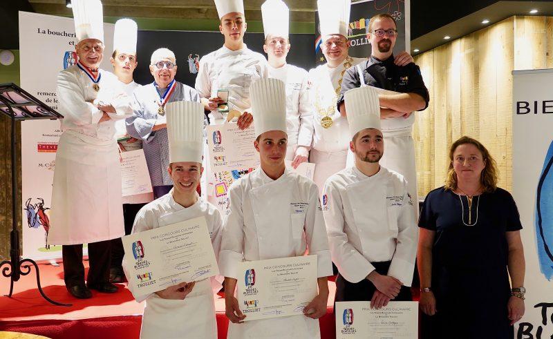1er concours de boucherie Trolliet – Toques Blanches Lyonnaises