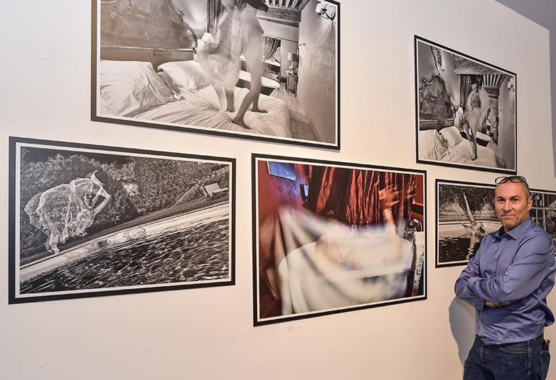 Vernissage de notre photographe. Fabrice Schiff, sa facette de star