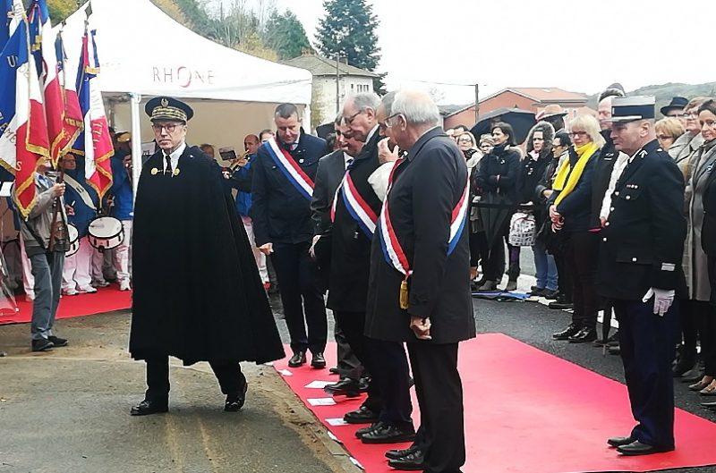 Les cérémonies de la Grande Guerre à Saint-Mamert (Rhône)
