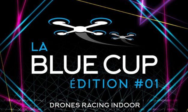 Blue Cup Lyon 2018. Une drone de compétition