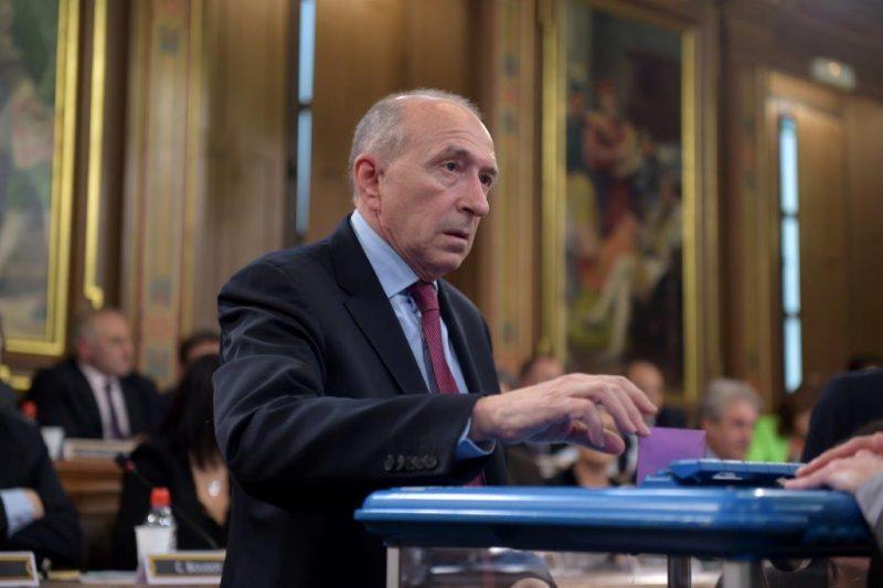 Gérard Collomb a retrouvé son fauteuil de maire de Lyon ce matin