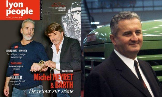 Michel Neyret et Barth Ruzza en couverture de Lyon People