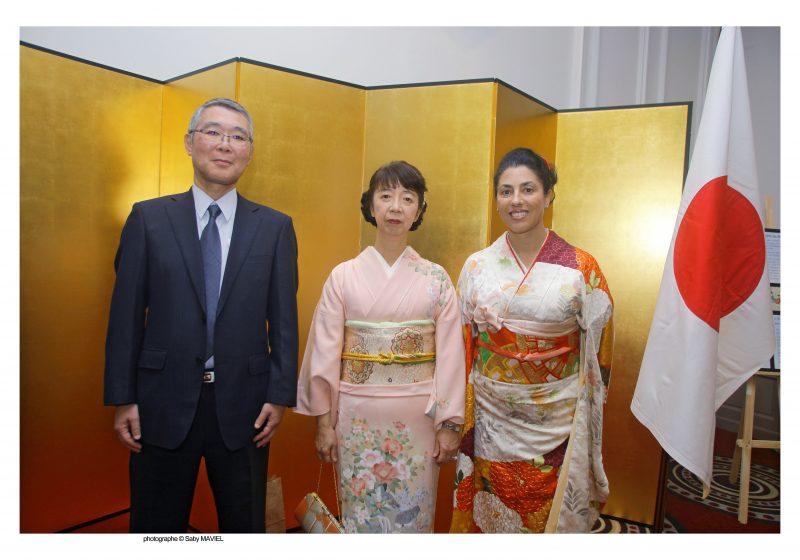 Château Perrache fête les 85 ans de l'Empereur du Japon