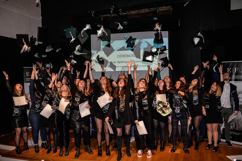 EFAP Lyon. Une nuit au musée pour les diplômés 2018