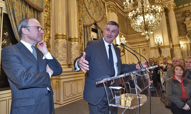 Vœux 2019. La fraternité, socle commun de Christophe Guilloteau et Pascal Mailhos