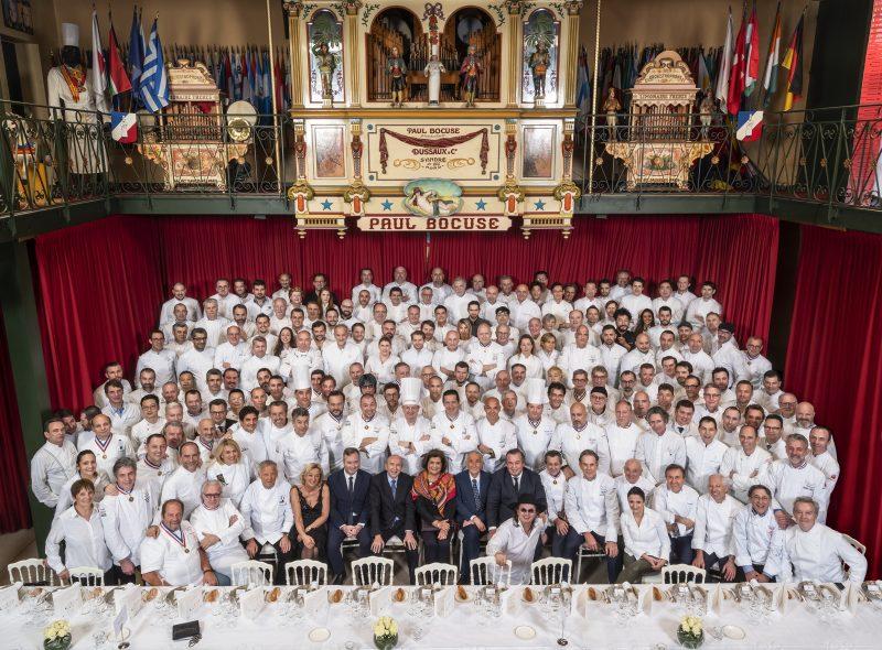 Dîner des Grands Chefs 2019. Pluie d'étoiles à l'Abbaye Paul Bocuse