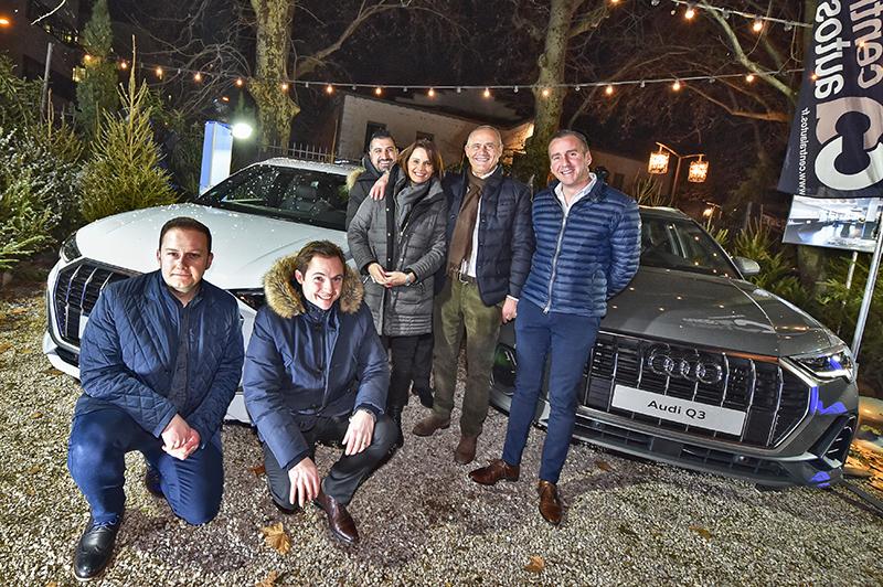 Audi Q3. Le sens de la fête à la Megève Winter Party