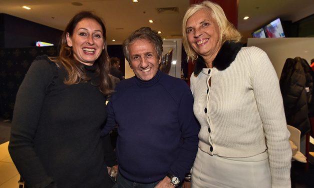 Les tribunes VIP d'OL – PSG. Lyon en mode capitale