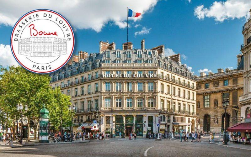 Brasserie du Louvre. Le pavillon Bocuse va flotter sur Paris