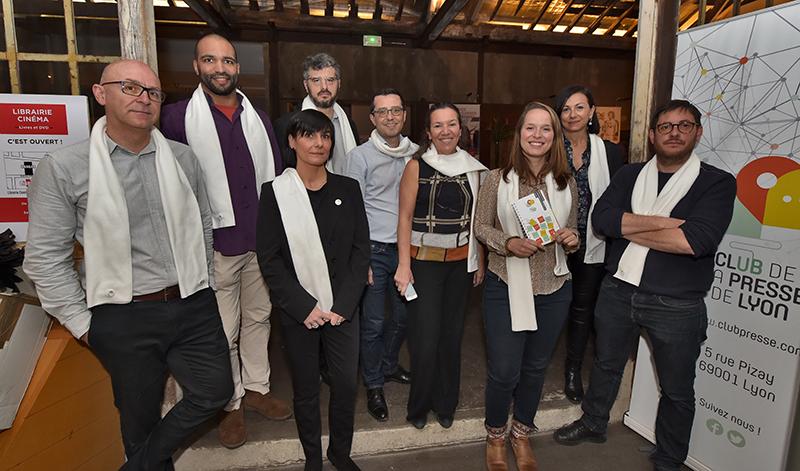 Club de la Presse de Lyon. Lancement de l'annuaire 2019