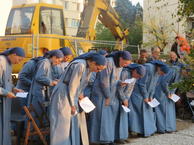 A la Croix-Rousse, un nouveau monastère en plein chantier