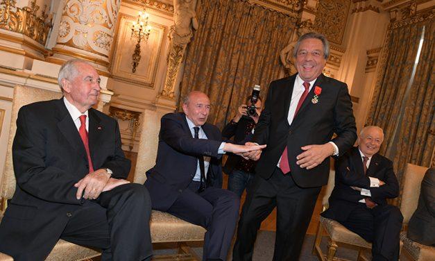 François Turcas, officier de la Légion d'honneur. Le film de la soirée