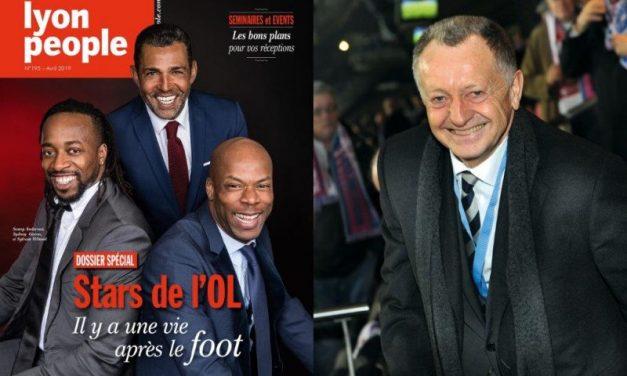 Les anciennes stars de l'OL en couverture de Lyon People