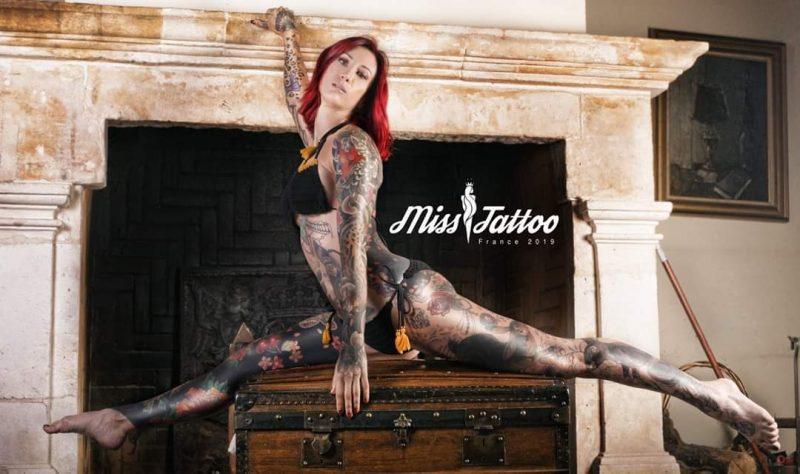 Miss France Tattoo 2019. La Lyonnaise Julie Prevost couronnée !