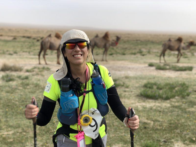 Pour son frère Carlos, Marta Pardo-Badier part à l'assaut du désert de Gobi !