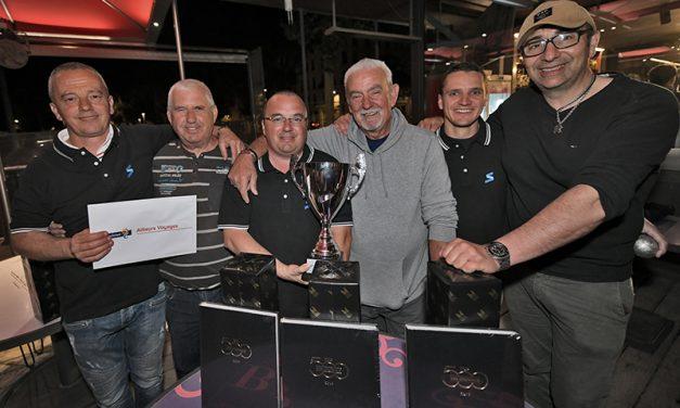 Trophée de pétanque Top 500 des Lyonnais. Serfim, la triplette gagnante !