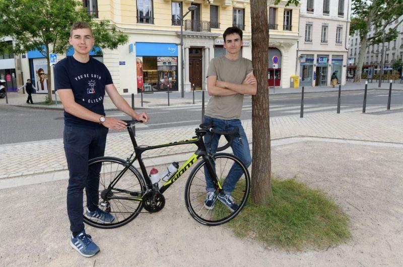 Race Across France. Deux Lyonnais roulent pour Lazare !