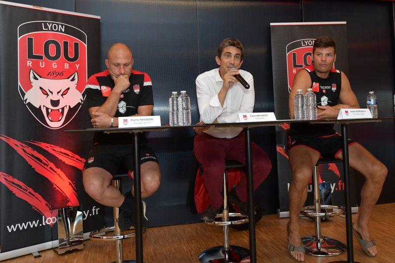 Saison 2019-2020. Le LOU Rugby montre les crocs