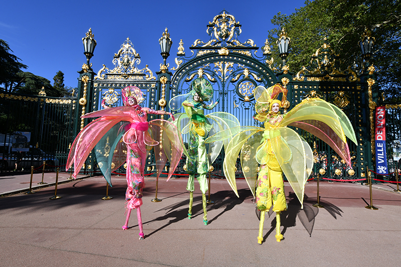 Parc de la Tête d'Or. « La porte des Enfants du Rhône révélée dans toute sa beauté »