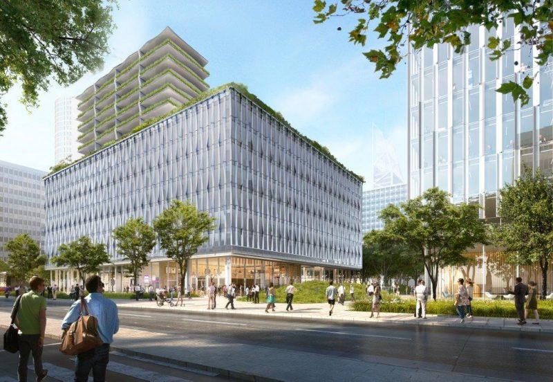 Projet M1 Part-Dieu. DCB investit l'ancienne banque Veuve Morin-Pons