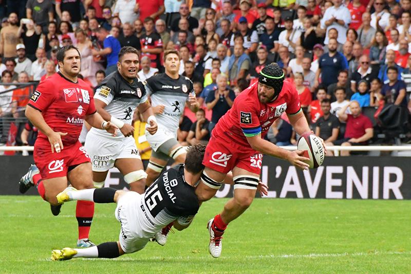 LOU Rugby Toulouse. Les Lyonnais s'offrent le champion