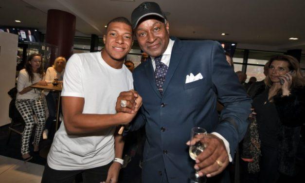 Mbappé et Parker Sénior dans les tribunes VIP d'OL – PSG
